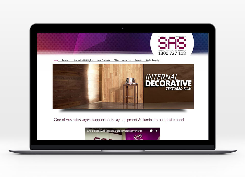 SAS Signages Information Site Design