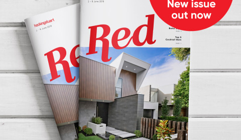 Red Magazine Promotional Designs